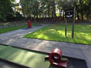 Mini Golf course at Hesketh Park in Southport