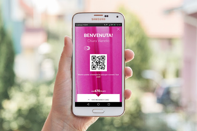 App Kiko e programma Kiko Rewards Card: il QR Code e la Carta virtuale