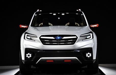 2018 Subaru Viziv Specs