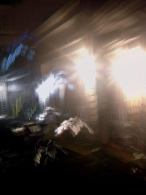 Otra de las imágenes reportadas a MUFON