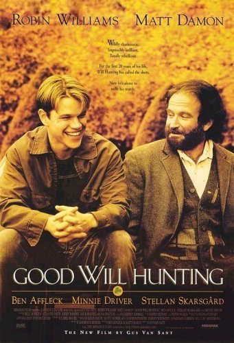 Good Will Hunting 1997 Dual Audio Hindi 480p DVDRip – 350mb