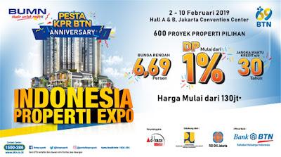 Program KPR BTN di Indonesia Properti Expo
