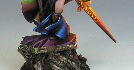 Best lighting options for painting miniatures