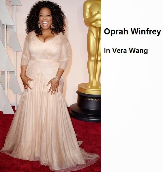 Oprah%2BWinfrey%2Bin%2BVera%2BWang - Look Óscares 2015