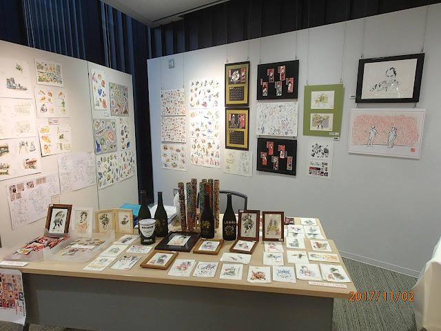 イラスト制作、イラストレーター、イラストレーター検索、品川アーティスト展、イベントイラスト