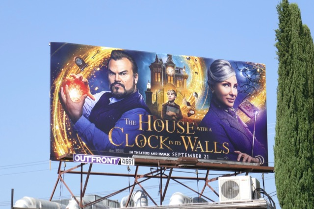 House with Clock in its Walls film billboard