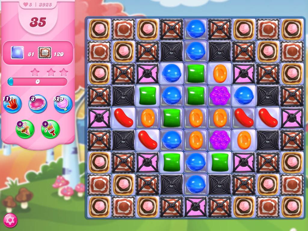 Candy Crush Saga level 3925