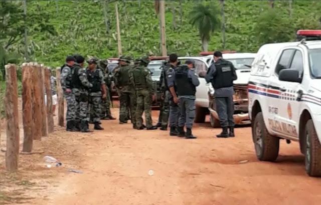 Suspeitos de explodir banco são presos no Maranhão