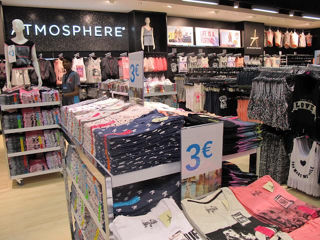 Lojas Primark em Paris