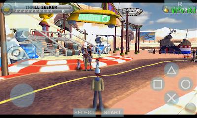 Thrillville - Off The Rails PSP