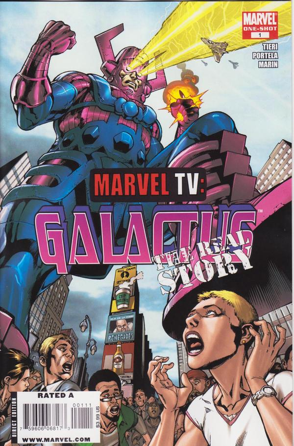 COMIC BOOK FAN AND LOVER  MARVEL TV  GALACTUS 95a86c68768