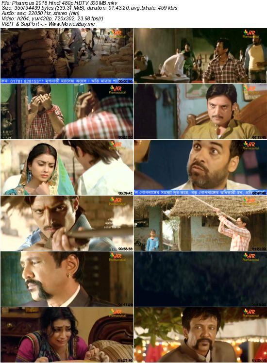 Phamous 2018 Hindi 480p HDTV 300MB worldfree4u