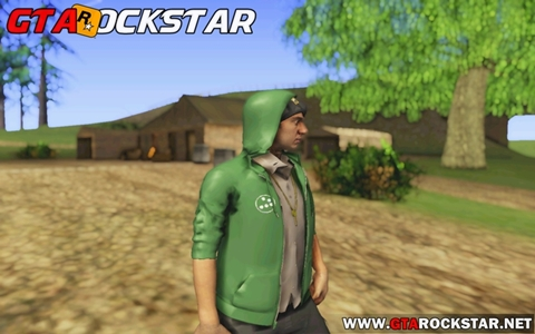 GTA SA - Skin Josh Convertido do Watch Dogs 2 skin Watch Dogs 2 para GTA San Andreas skin para gta sa
