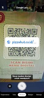 Cara Scan Barcode untuk pesan menu di Restoran
