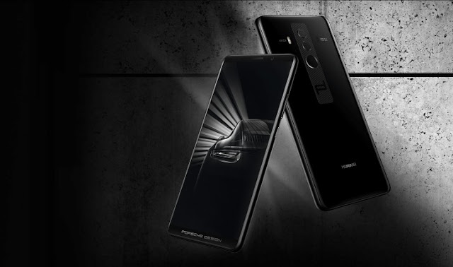 Huawei also announced Porsche Design Mate 10 Pro which is more premium and has a 6GB of RAM and 256GB of storage.