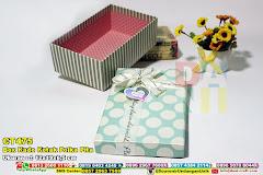 Box Kado Kotak Polka Pita