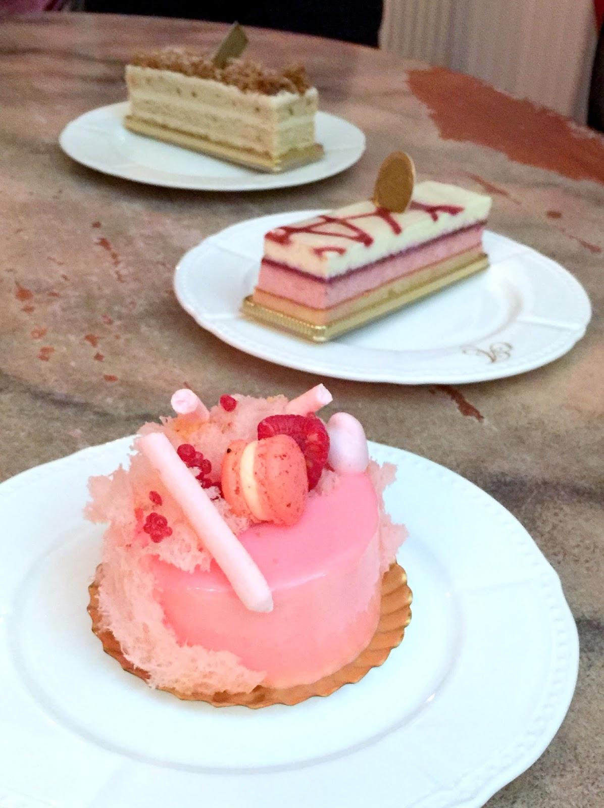 French Chestnut Cake