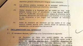 Dos fiscales buscan comprobar si compró el 20% de la marítima Maruba y extraños movimientos financieros millonarios.