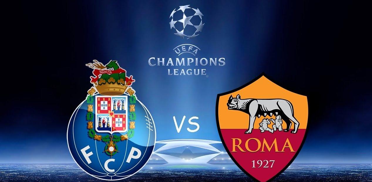Vedere Porto Roma Rojadiretca Streaming Gratis RAI con CR7 Cristiano Ronaldo.
