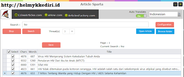 Article sparta tutorialc