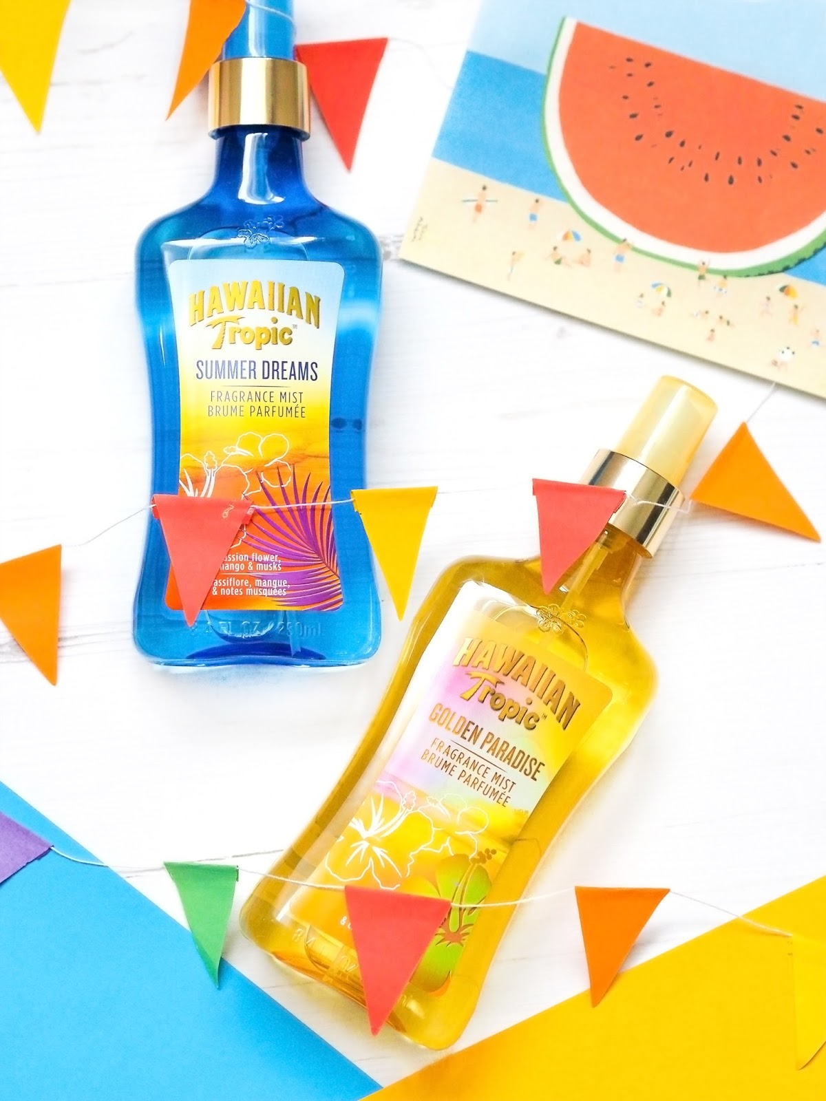 Hawaiian Tropic Fragrance Mists Review