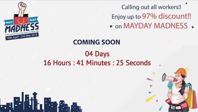 Pesta Diskon Online Mayday Madness 2018 Hadir Lagi Dengan 75 Lebih E-Commerce Di Seluruh Indonesia
