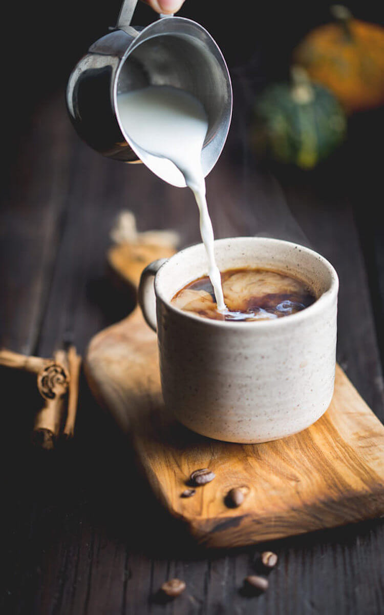 Café de olla con  calabaza