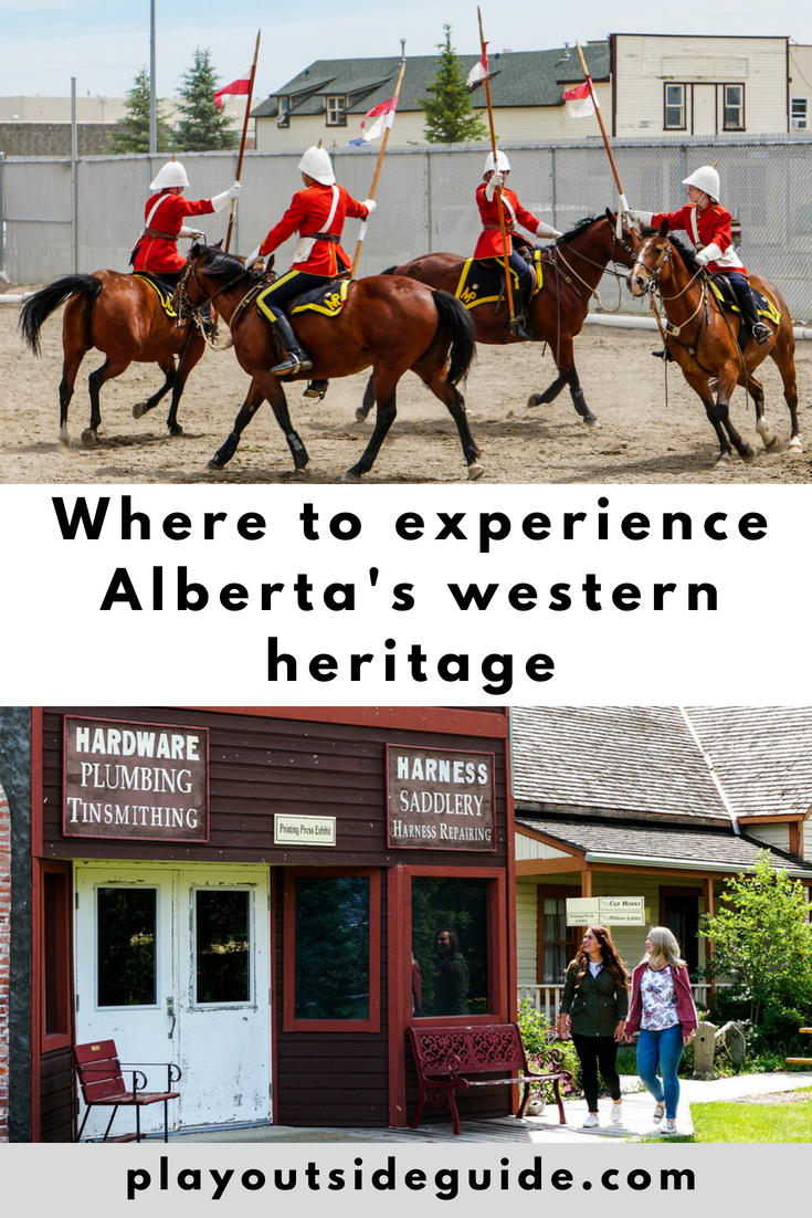 Where to Experience Alberta's Western Heritage - Play