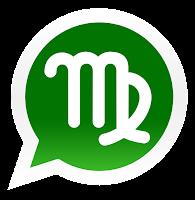 Iconos de los signos zodiacales para promocionar grupos de Whatsapp de virgo