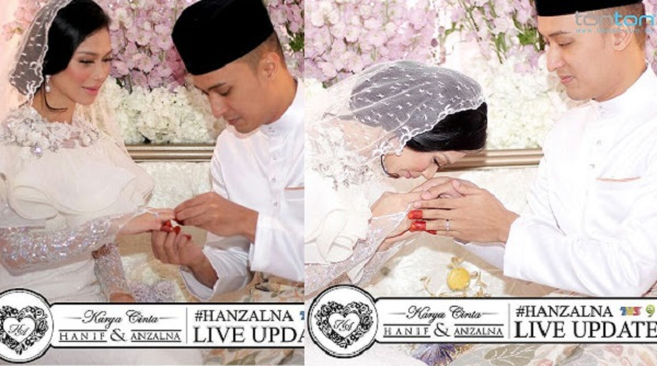Sekitar Majlis Pernikahan Anzalna Nasir