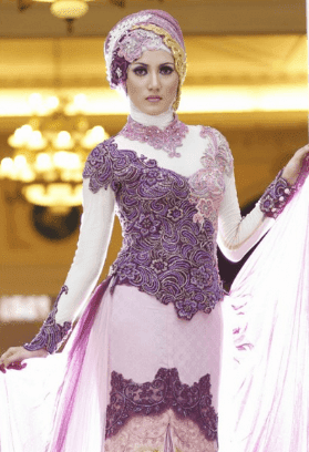 kebaya modern 2016 hijab terbaru
