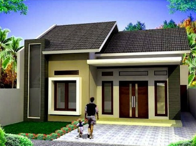 Although the house is built with only minimal but the color gives a very elegant impression effect