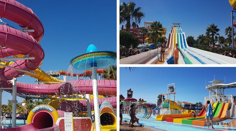 parque aquático Algarve, Portugal