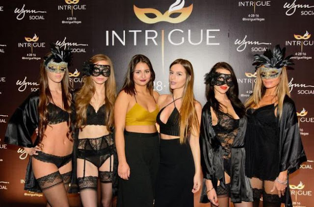 Balada Intrigue no Wynn em Las Vegas