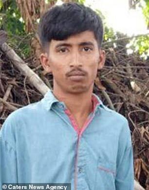 Argha Biswas, 20 tuổi, thủ phạm của vụ cưỡng hiếp