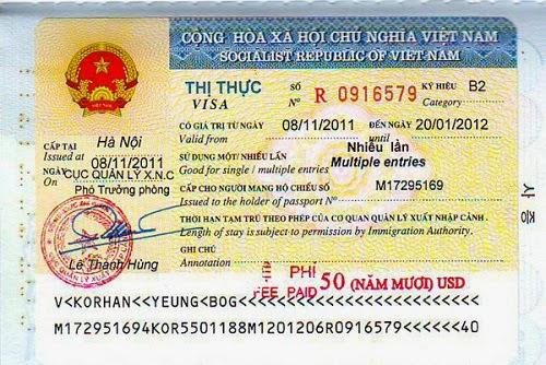 visa tái nhập nhiều lần - tâm pacific travel