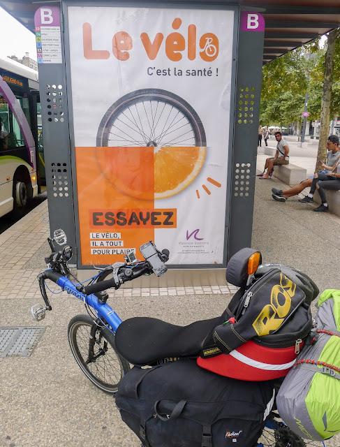 De Paris à Narbonne en vélo, le vélo c'est la santé