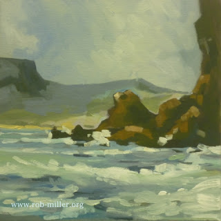 Painting of the Isle of Skye