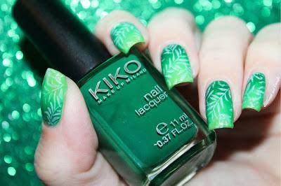 Pantone Greenery Spring Nail Art