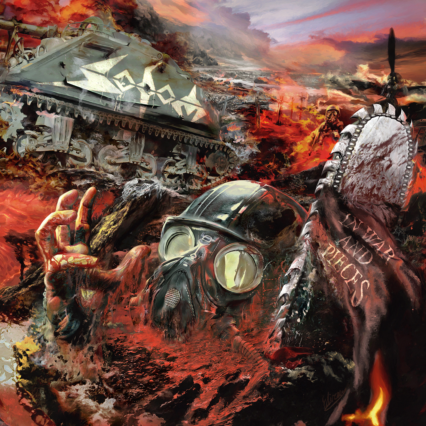 Sodom In War And Pieces