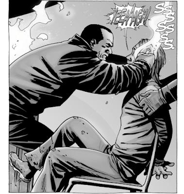 Negan e il ferro (vignetta di The Walking Dead)
