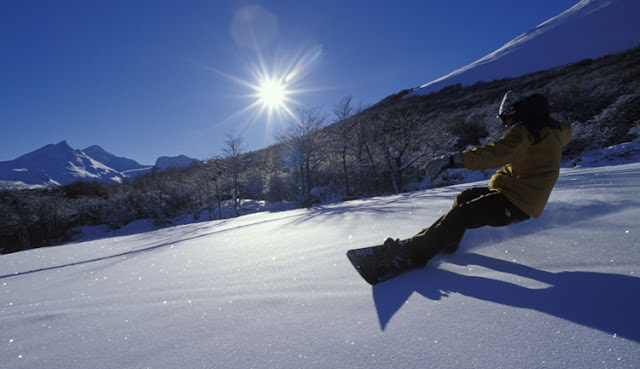 Onde é a pista de esqui Cerro Castor