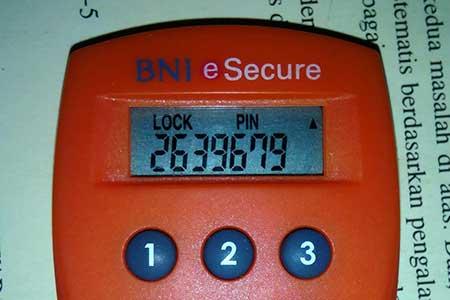 Mengapa BNI e-Secure Saya Muncul Tulisan Lock?