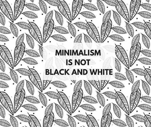 black and white minimalism