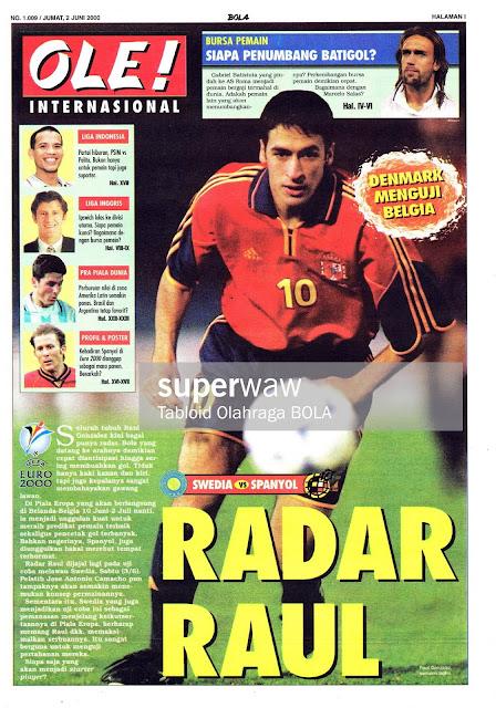 SWEDEN VS SPAIN RAUL GONZALEZ