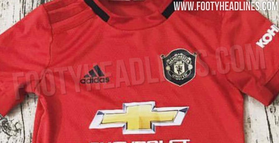 de06437d031 Manchester United 19-20 Home Kit Leaked - First Real Picture
