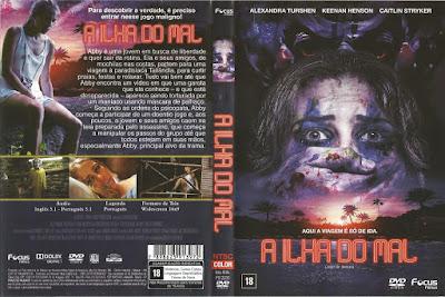 Filme A Ilha do Mal (Land of Smiles) DVD Capa