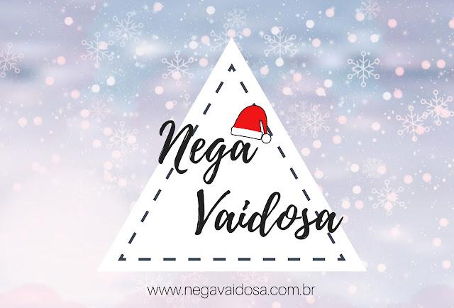 Perfil natalino da página do Facebook do blog Nega Vaidosa