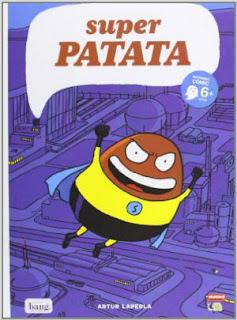 cuento infantil divertido, cómic Super Patata, colección mamut ediciones Bang
