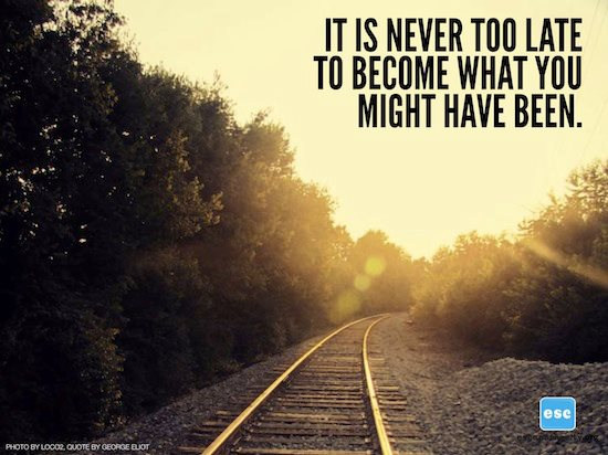 Image result for images for you are never too late